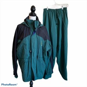Stearns 2 piece Rain Proof Jacket and Pants - M